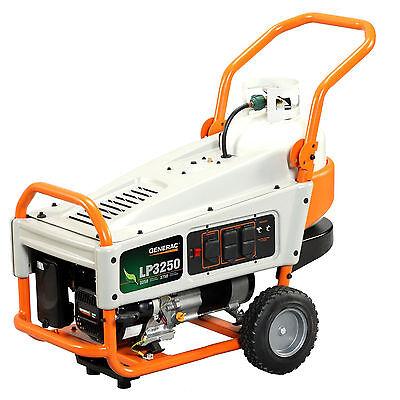 Generac 6000 LP3250 3,250 Watt LP Liquid Propane Portable Power Generator