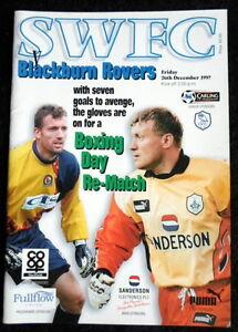 Sheffield-Wednesday-v-Blackburn-Rovers-26-12-1997-vgc