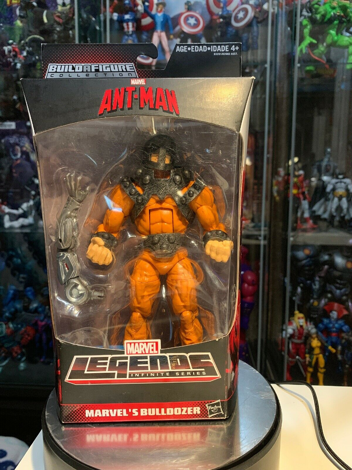 Marvel Legends BULLDOZER Ultron Build-A-Figure Series Action Figure 6