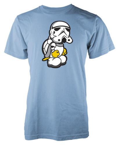 Storm Trooper Turtle Star Wars Inspiré Mash Up Adulte T-Shirt