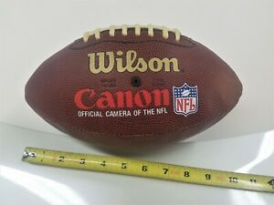 CANON EOS REBEL NFL SUPERBOWL WILSON FOOTBALL & SD900  CARDS-RARE AND UNUSUAL!