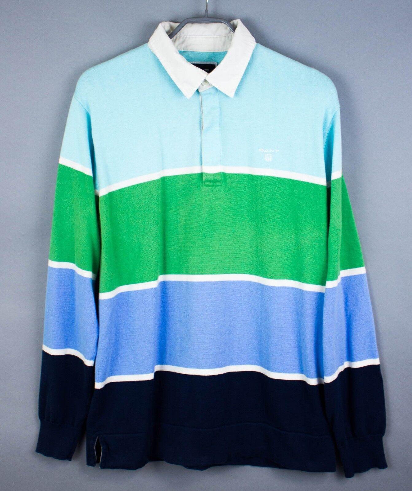 Gant Hombre Jersey Cuello Polo Jersey Top Casual size L Gz252