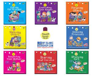 Akhlaaq-Building-Series-8-Islamic-Muslim-Children-Books-Read-amp-Learn-Gift-Ideas