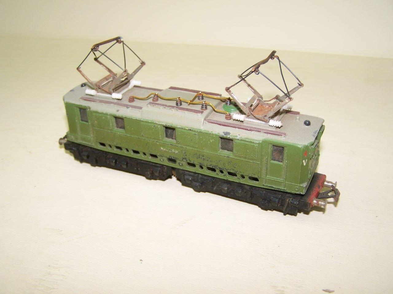 Antiguo E - Locomotora con Catenaria Ho