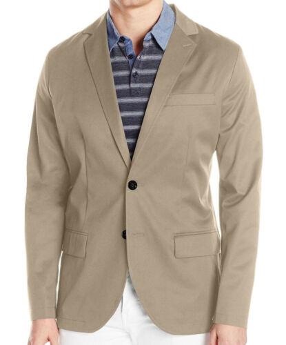 NAUTICA Cotton Twill Blazer 2 Button~~~NEW~~All Sizes~~Blue /& Beige~~RETAIL $198