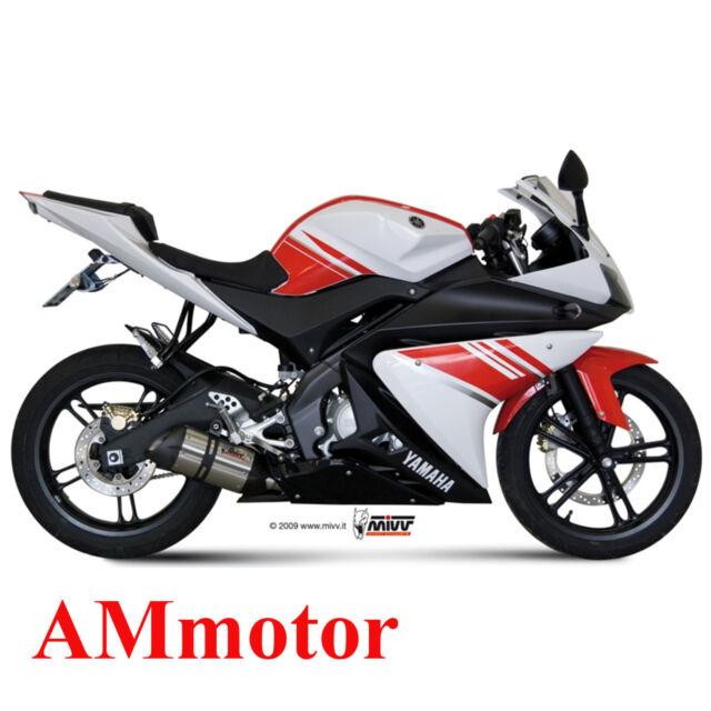 Escape Completo Mivv Yamaha Yzf R125 2013 13 Moto Silenciador Suono