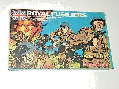 Pratico Royal Fusiliers - Atlantic 33 Pezzi - 2 World War 1/72 – Ho –nuovi Con Scatola Avere Sia La Qualità Della Tenacia Che La Durezza
