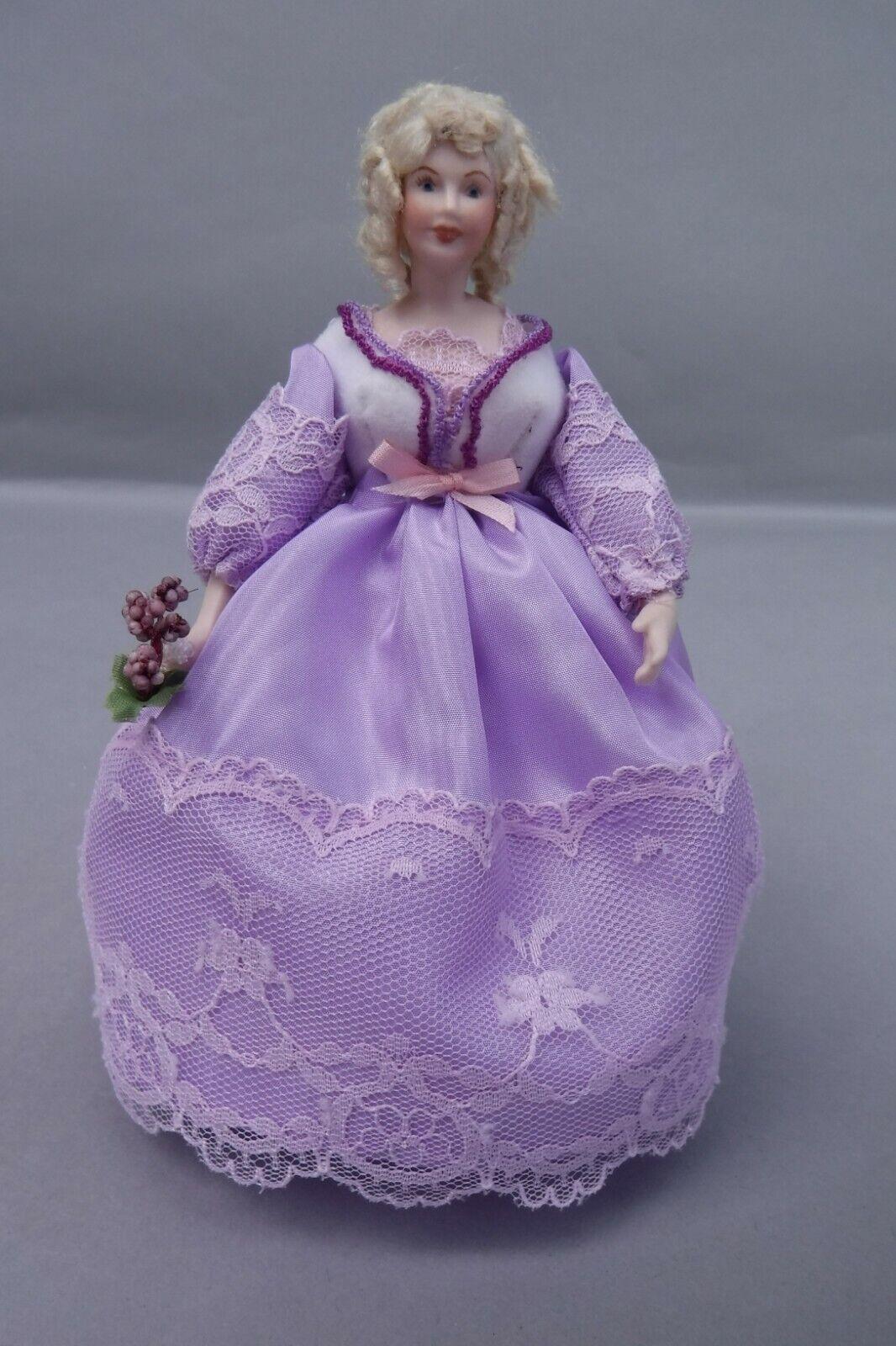 Victorian Style Porcelain Pretty Lady bambolahouse bambola 1 12 Scale   marchi di stilisti economici