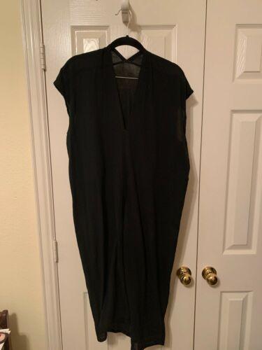 Miranda Bennett Everyday Dress, Cotton Gauze, Blac