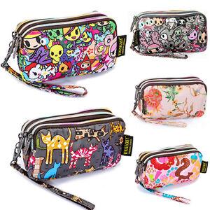 Women-Handbag-Pencil-Cosmetic-Case-Printing-Clutch-Bag-Coin-Phone-Purse-Wallets