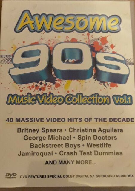Awesome 90s Music Video Collection DVD