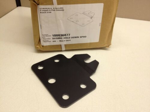 BOX of 25 NEW Seismic Hold Down Anchor for Gondola Shelving Etc.