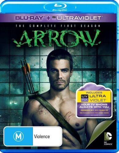1 of 1 - Arrow : Season 1 (Blu-ray, 2013, 4-Disc Set)