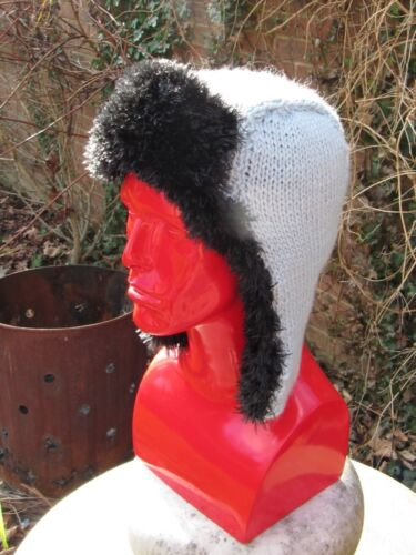 PRINTED INSTRUCTIONS-NOT THE HAT CHUNKY TRAPPER HAT KNITTING PATTERN