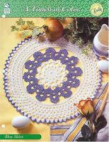 Blue Skies Crochet Doily Pattern / Touch of Color / HOWB Collector Series