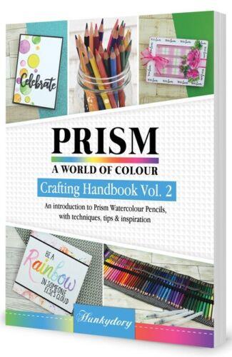 Hunkydory-Nouveau prisme Handbook Volume 2-Crayons Aquarelle Edition 68 pages
