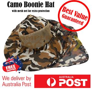 Boonie-Hat-Sun-Hiking-Brim-Wide-Fishing-Military-Cap-Bucket-Camo-Men-Hunting-Au
