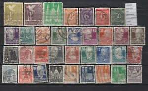 STAMPS-LOT-GERMANY-OCCUPATION-USED-L36420