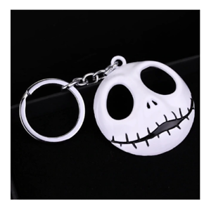 Large-Nightmare-Before-Christmas-Jack-Skeleton-Head-Key-Ring-Key-Chain-Halloween