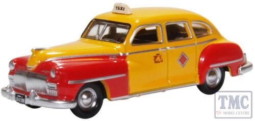 87DS46002 OXFORD DIECAST HO Gauge Desoto banlieue de San Francisco de 1946-48 Taxi