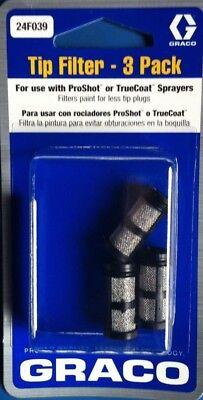 Graco OEM TrueCoat//ProCoat Filter 3 Pack 60 Mesh 24F039