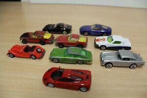Konvolut-9x-Jensen-Interceptor-Aston-Martin-Morgan-McLaren-Austin-Corgi-Kyosho