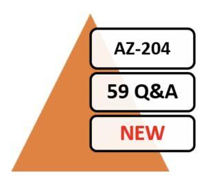 Latest-AZ-204-Verified-Practice-Exam-59-Q-amp-A-PDF-File-Only