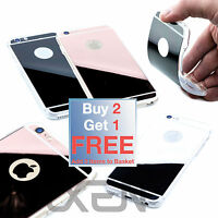 LUXURY MIRROR Ultra Thin Silicone CASE COVER SKIN for Apple iPhone 6/s 6/s Plus
