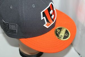 NFL Cincinnati Bengals Crafted in the USA New Era Low Profile 59FIFTY Fitted Cap