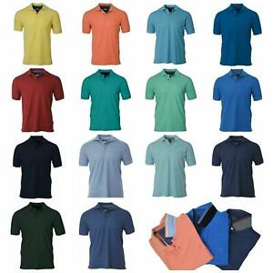 Ex-M-amp-S-MENS-COTTON-PIQUE-POLO-SHIRT-SHORT-SLEEVED-BRAND-NEW