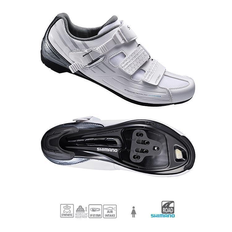 SHIMANO SH-RP300 para mujer Road Cycling zapatos Zapato Negro RP3W Talla 7.8US 40 Euro