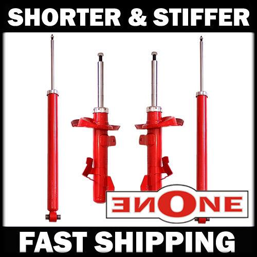 Mookeeh MK1 Performance Stiff Shorter Shocks Struts For Lowered 04-10 MAZDA 3 5