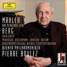 Mahler: Das klagende Lied / Berg: Lulu-Suite 2013 by Gustav Mahler; - Ex-library