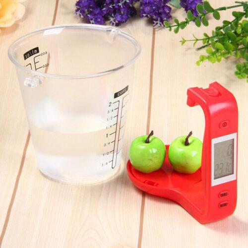 Écran LCD Multi-fonctionnel Digital Kitchen Scale tasse à mesurer 100-600 ml 1000 g