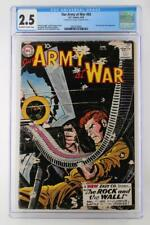 Our Army At War #83 CGC 2.5 GD DC 1959 1st True Sgt. Rock App!