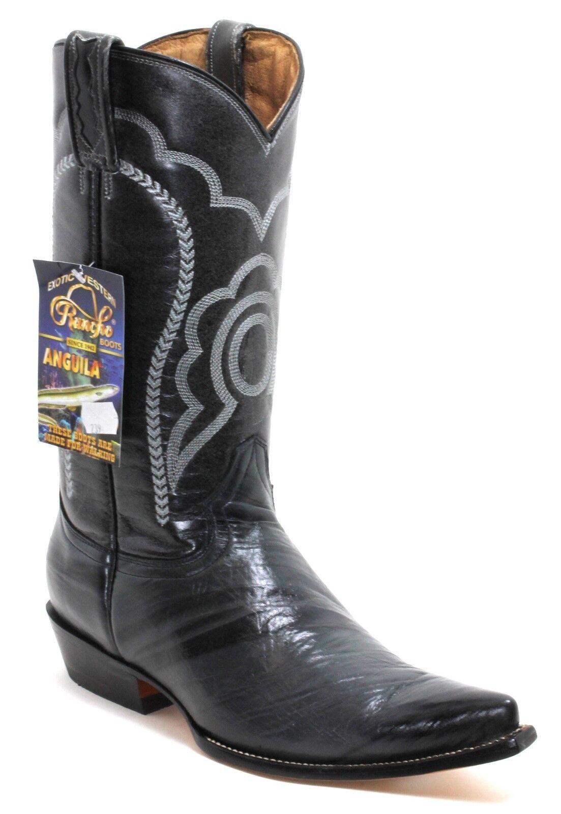 1 Cowboystiefel Westernstiefel Texas Boots Rancho Exotic Western Aal Anguila 44
