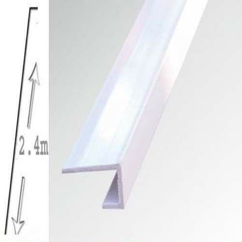 2 X Shower Wall Panels White End Trim  5mm X 2700 long WET WALL