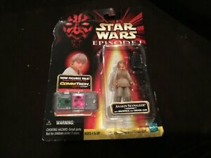 Hasbro-Episode-1-Carded-Star-Wars-Figure-w-CommTech-Chip-Anakin-Skywalker