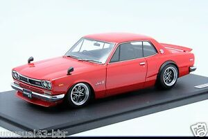 1-18-Ignition-Model-Nissan-Skyline-2000-GTR-KPGC10-Red-Free-Shipping