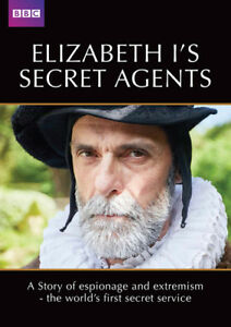 Elizabeth-I-039-s-Secret-Agents-DVD-2018-David-Glover-cert-E-NEW-Great-Value