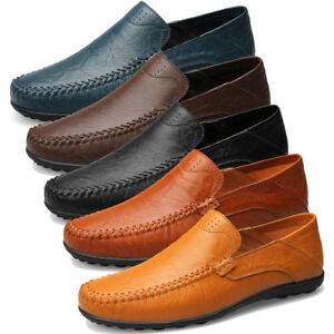 Casual Shoes Real Leather Loafers Walk