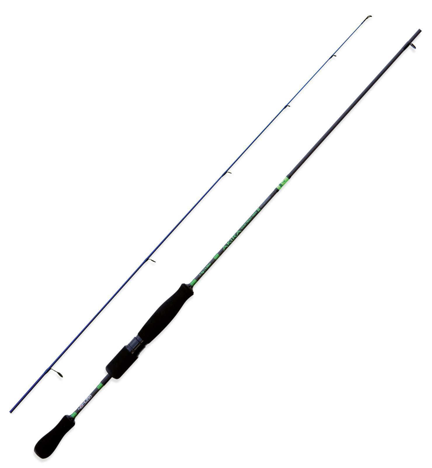 Nm20520518 fishing rod nomura trout zone akira solid 1.80cm 1-5 gr