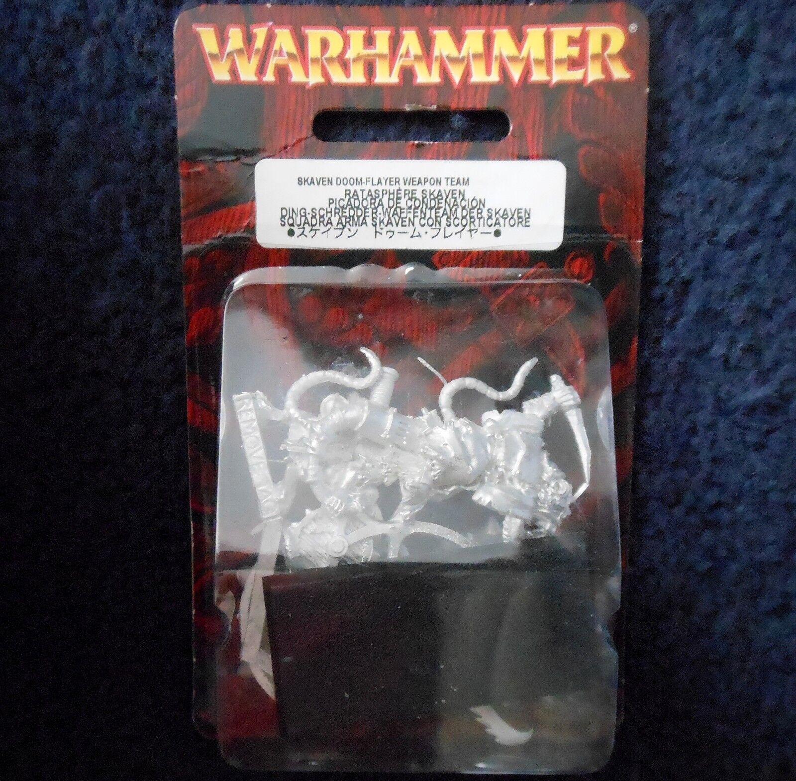 2010 Skaven DOOM-Flayer ARMA  squadra CAOS giocos lavoronegozio WARHAMMER Esercito Crew Nuovo di zecca con scatola  garanzia di qualità