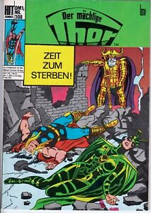 Hit Comics Thor nº 208 (1-2) estado bonito imagen fuentes BSV