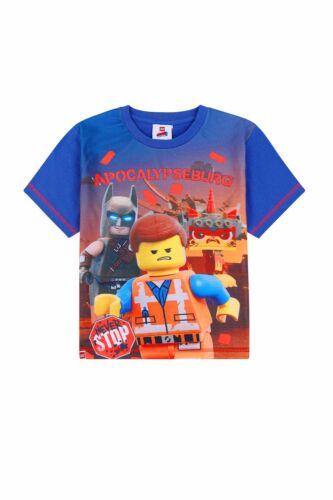 Lego Movie 2 Emmet Batman Unikitty Long Pyjamas Blue