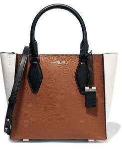 cac08a8fc73d Image is loading Michael-Kors-Collection-Bag-Handbag-Gracie-Md-Colourblock-