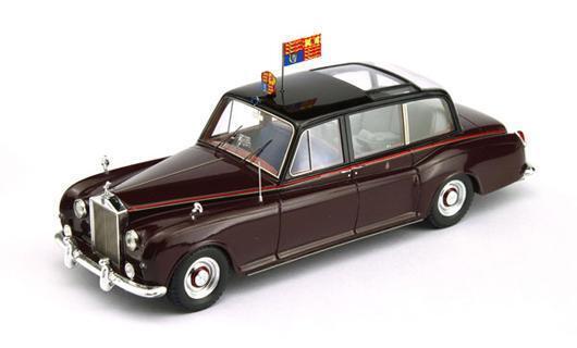 ROLLS ROYCE PHANTOM V CANBERRA HM THE QUEEN 1960 True Scale Miniatures AMARANTO