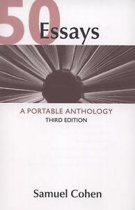 50 Essays : A Portable Anthology by Samuel Cohen; Cohen ...