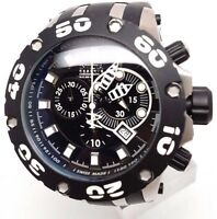 Swiss Made Invicta 0903 Subaqua Reserve Chronograph Black Dial Men's Watch