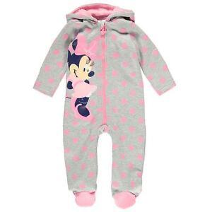disney baby manteau combi pilote combinaison minnie 0 3 3 6 6 9 9 12 18 24 mois ebay. Black Bedroom Furniture Sets. Home Design Ideas